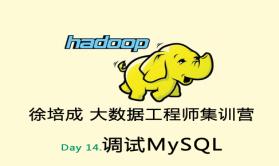 大数据培训班之Hadoop视频课程-day14(调试MySQL)