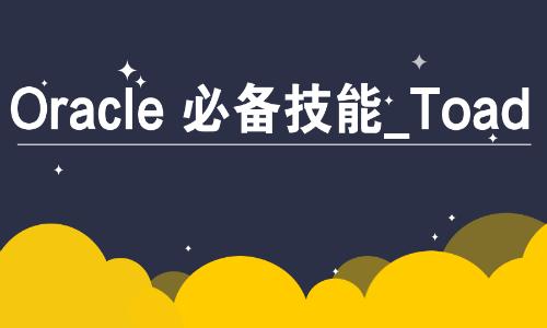 Oracle必备技能工具篇使用Toad视频教程