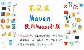 【笔记式】Maven精选讲解--使用Nexus创建私服视频课程