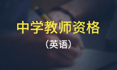 教师资格证 中学英语一站通关班