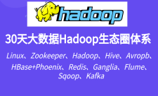 30天大数据Hadoop生态圈体系完整教程