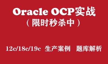 OCP培训 Oracle 12c/18c/19c/2019 OCP认证实战培训视频【2折秒杀】