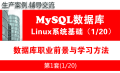 MySQL教程(第壹月):MySQL入门之Linux基础知识
