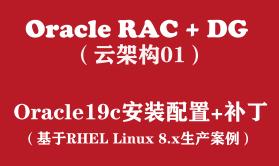 Oracle RAC+DG生产实战(1):Oracle19c for RHEL8安装配置+补丁