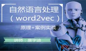自然语言处理-Word2Vec视频教程