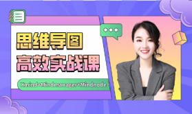 思维导图实战课:高效职场课Xmind+Mindmanager+Mindnode